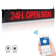 40-inch 101cm Wifi wireless remote Programmable Advertising LED Display Board