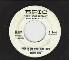 MICKEY ALAN  -  BACK IN MY OWN HOMETOWN  /  NO ARMS WILL EVER HOLD YOU