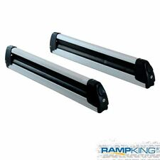 NEW Ramp King Roof Rack Mount Fishing Rod 4 Ski 2 Snowboard Carrier Holder w/Key