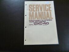 Original Service Manual Schaltplan Akai GXC-40