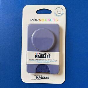 MAGSAFE Popsockets Popwallet+ (Plus) - Deep Periwinkle - Magnetic Wallet