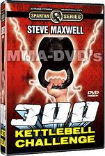 Steve Maxwell - 300 Kettlebell Challenge - BRAND NEW