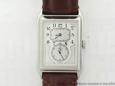 AE Watch Co Rectangle Case Stainless Steel Runs Great