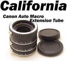 CANON Auto Macro Extension Tube Ring EOS EF Mount Camera DSLR,SLR Rebel 1000d -S