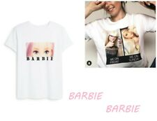 Primark Mattel Licensed Official Barbie Girl Doll T-SHIRT TOP S M L XL