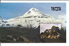 QSL Radio HCJB Quito Ecuador South America 1975 Voz of the Andes DX SWL