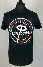 New York Yankees Cooperstown Majestic MLB T-Shirt Men's Size S World Series NY