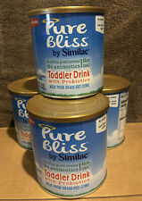 4 Cans Pure Bliss by Similac Toddler Drink no GMO (24.7 oz ea) EXP 01/Jun/2022