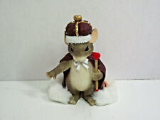 Fitz and Floyd Charming Tails 84/113 King of My Heart Nib mouse