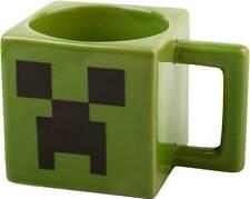 Minecraft Creeper Face Square Mug NEW * ceramic coffe cup mine craft jinx