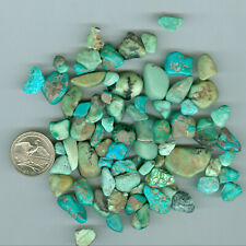 Mixed Bag of Rough Gem material Turquoise Fox Pixie Green Tree New Lander 87gram