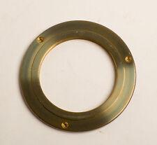 Large Brass Lens mounting flange