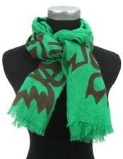 Écharpes et châles foulards à motif Empreintes animales pour femme, en 100% coton