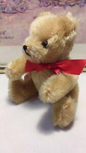 TEDDY HERMANN ORIGINAL Bär 100% Mohair  15 cm  guter Zustand