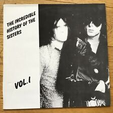 The Sisters Of Mercy ‎– The Incredible History Of The Sisters Vol. I  LP Vinyl