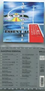 CD Audiophile Essential feat Charly Antolini Pete York Wolfgang Schmid...