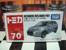 TOMICA #70 MITSUBISHI OUTLANDER PHEV 1/63 SCALE NEW IN BOX