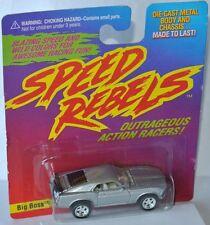 Speed Rebels - FORD MUSTANG * BIG BOSS * - silver metallic - Playing Mantis 1997