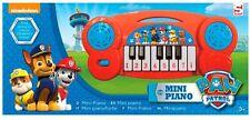 MINI PIANO PATRULLA CANINA ROJO (6801)