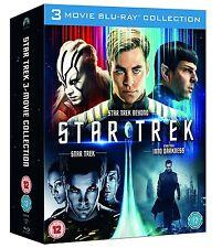 Star Trek Trilogy 3 Movie Collection Blu-Ray Set BRAND NEW Into Darkness Beyond