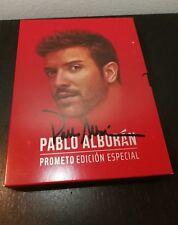 FIRMADO PABLO ALBORAN - PROMETO - 2CD+ BLURAY - FIRMADO -