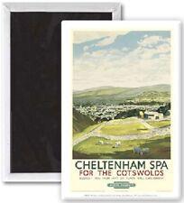 Aimant Frigo 'Cheltenham Spa for the Cotswolds' Vieille Pub Chemin Fer (se)