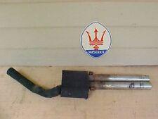 Maserati Ghibli Exhaust System Muffler Resonator Pipe Rear Sec Needs Restoration