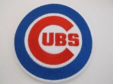 """Chicago Cubs Embroidered PATCH~3 1/2"""" Round~Iron or Sew On~MLB~Ships FREE"""