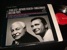 STAN GETZ&ARTHUR FIEDLER<>AT TANGLEWOOD<>LP Vinyl~USA Pressing<>RCA LSC-2925