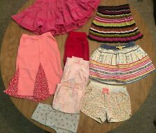 Lot of Children's Clothing Size 2-5T Girls Skirt Pants Shorts Sweatpants Sparkle