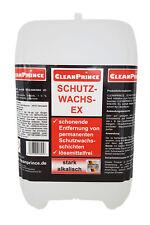 Dispositifs Cire Protectrice Ex - Remover 5 Litre Nettoyant Wachslöser Alkalisch
