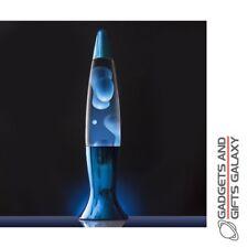 Motion Lamp in Blue Desktop Toy Retro Vintage Gift Novelty Gadget Adult Childs