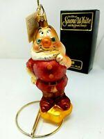 DOC Radko Disney Vintage 1997 Snow White and the Seven Dwarfs Ornament w/ Box