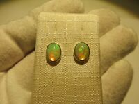 Edel Opal Ohrstecker Opal Earrings 925 Silber Nr. E8082