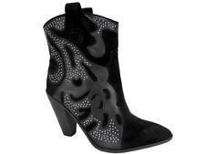 Carlos by Carlos Santana Women's Sterling Western Booties Black Size 8.5 M