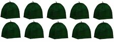 "(10) NuVue 20253 36"" x 36"" x 40"" Green Frost Proof Winter Shrub Protector Covers"