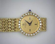 Rare Baume & Mercier Diamond 18k Yellow Gold Ladies Watch 16651 9
