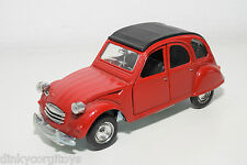 POLISTIL S219 S-219 S 219 CITROEN 2CV 2 CV RED MINT CONDITION