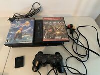 Sony Playstation 2 PS2 Fat Game Lot With System And Controller Tested And Works