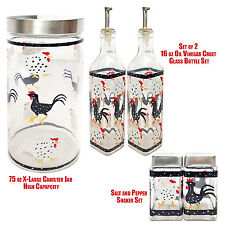 5 Piece Chicken n Rooster Grant Howard Kitchen Dinning Set Collection
