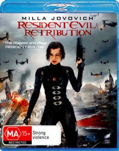 Resident Evil: Retribution BLU-RAY NEW