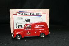 Ertl Die-Cast Metal Budweiser Bank - 1950 Panel Truck - 6th in Series