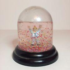 Vintage Man Celebrating Birthday Snow Globe - 1985 John Jonik Enesco Imports