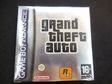 Grand Theft Auto para gameboy advance nuevo y precintado