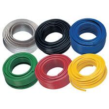 """p. v.c Tubo - 1/2"""" Identificación Trenzado Rojo PVC x 30mtr 12-02756"""