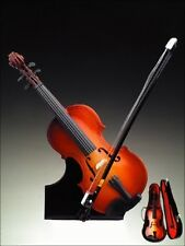 Miniature Violin with Case, Stand, & Bow, 7 inches tall, by Broadway Gifts