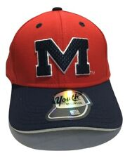 NCAA University Of Mississippi Hat, Youth Cap, Red Blue