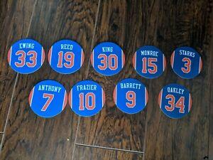 Best of New York Knicks Magnets - Bernard King, John Starks, RJ Barrett, Carmelo