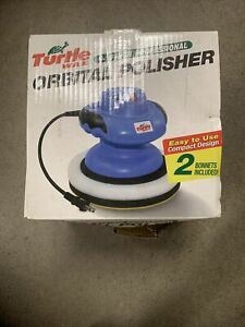 """NIB TurtleWax Turtle Wax 9-10"""" Orbital Waxer Polisher"""