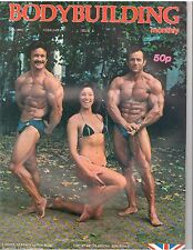 BODYBUILDING MONTHLY muscle mag/Anibal Lopez.Linda Cheesma,Salvador Ruiz  UK